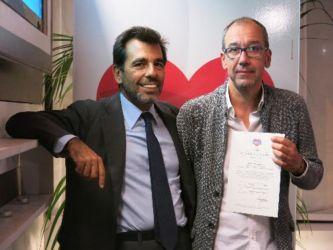 Cerimonia di certificazione aziende Cuor di Car_la Fruttiera Srl
