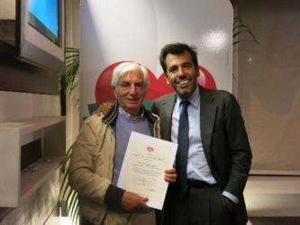 Cerimonia di certificazione aziende Cuor di Car_Lino D'Olimpio e figli Srl