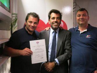 Cerimonia di certificazione aziende Cuor di Car_Ortopiazzolla Srl